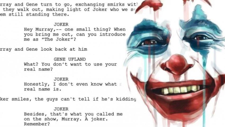 («Джокер»: у Мережі з'явився фінальний сценарій фільму)