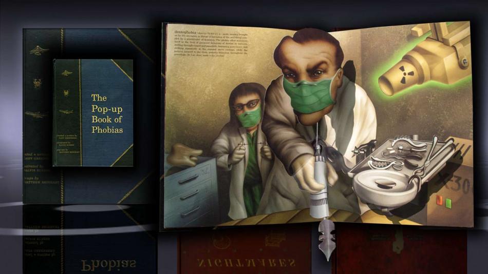 (Цікаво про страхи: Тривимірна «Книга фобій» Метью Рейнгарта (фото, відео))