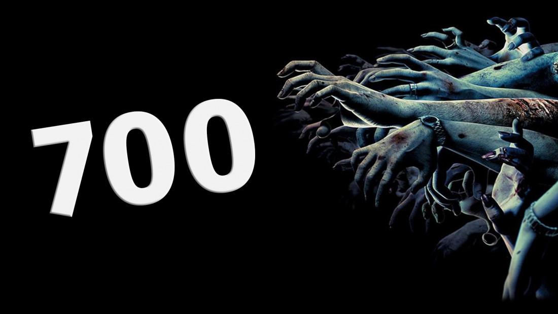 700 підписників та 666 вподобань на сторінці в Фейсбук!