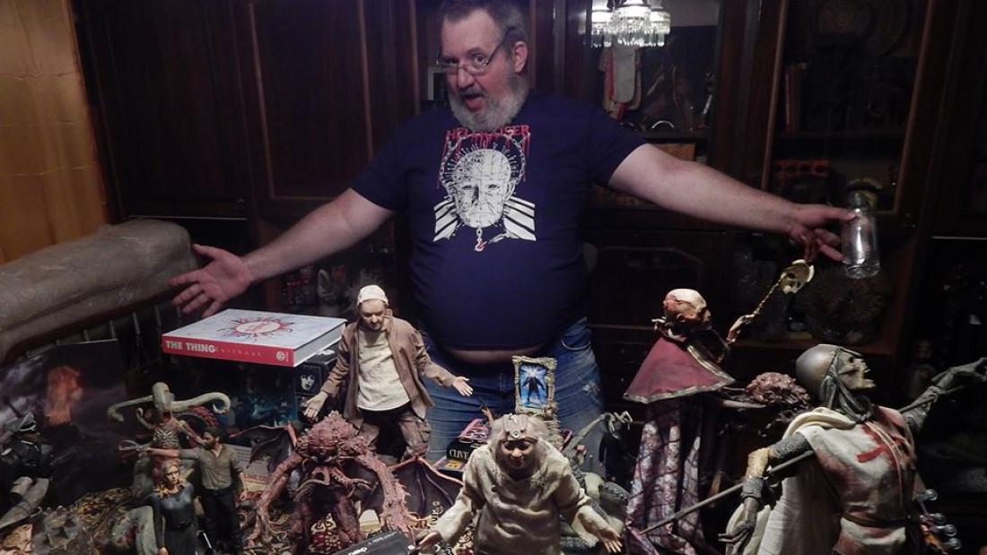 Розпродаж унікальної колекції жахів
