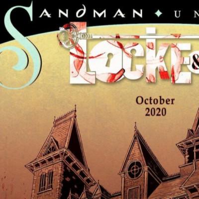 У жовтні вийде кросовер коміксів «Ключі Локків» і «Пісочний Чоловік»