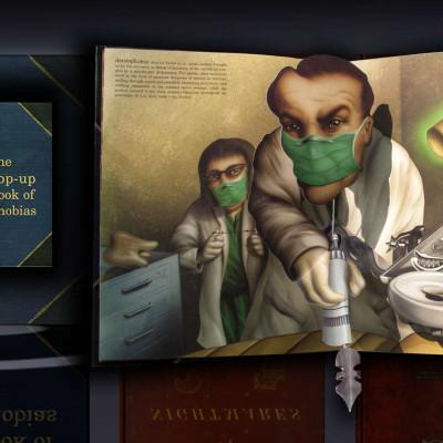 Цікаво про страхи: Тривимірна «Книга фобій» Метью Рейнгарта (фото, відео)