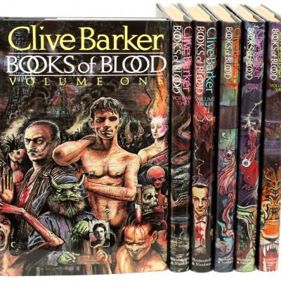 """Клайв Баркер веде роботу над серіальною екранізацією """"Книг крові"""""""